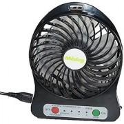 Electric Portable Mini Fan Rechargeable Small but Powerful Li-ion Battery Fan Quiet Mini USB Fan