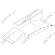 Fun box with curb 300x175x40/80 cm