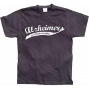 Merkloos Funny t-shirt Alzheimer L - Feestshirts