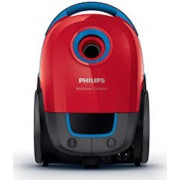 Aspirator cu sac Philips Peformer Compact FC8373/09, 3 l, Tub telescopic, 750 W, Rosu