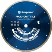 Husqvarna Vari-Cut Tile Diamond Blade - 4 Inch x 0.060 Inch x 7/8-5/8, Model Vari-Cut Tile/Granite