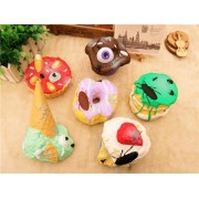 Cake Squishy Disgusting Big Dessert 13CM Tricky Funny Jumbo Toys Gift Collection With Packaging