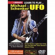 Roadrock International Lick Library: Learn To Play Michael Schenker And UFO DVD