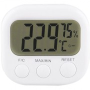 Futaba LCD Digital Thermometer Hygrometer Gauge Without Clock
