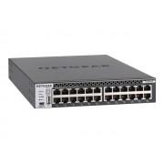 NETGEAR ProSAFE M4300-24X - Commutateur - C3 - Géré - 24 x 10 Gigabit Ethernet + 4 x 10 Gigabit SFP+ partagés - Montable sur rack