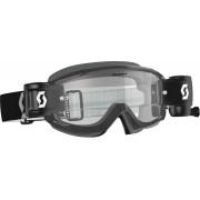Scott Split OTG WFS Clear Motocross Goggles Black One Size