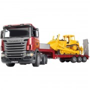 Camion Scania & Buldozer CAT