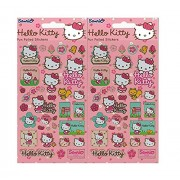 2 Pack Pair Packed Hello Kitty Fun Foiled Stickers