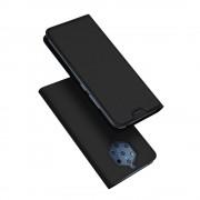 DUX DUCIS Skin Pro Könyvtartó típus tok Nokia 9 PureView fekete tok telefontok hátlap