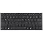 Rapoo | E6350-B Bluetooth Mini Keyboard - BLACK / Blade Series