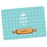 Jogo Americano 2 Peças Keep Calm