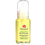 Dermacol Aroma Ritual óleo corporal antisstress uvas e lima 50 ml