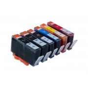 HP Tintenpatronen Set kompatibel mit HP 364XL BK / C / M / Y