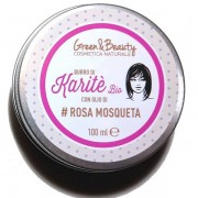 Green & Beauty Manteca de Karité Bio con aceite de Rosa Mosqueta - Caducidad 12.2018