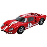 1966 Ford GT-40 MK 2 Red #1 1/18 by Shelby Collectibles SC407