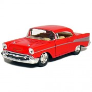 """5"""" 1957 Chevy Bel Air Coupe 1:40 Scale (Red)"""