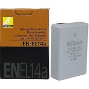 Nikon EN-EL14A 7.2V 1230 mAh Battery for D-3100 D5100 and P700