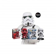 Funko 2 Pop Stormtrooper Y Red Target Exclusive Star Wars Set