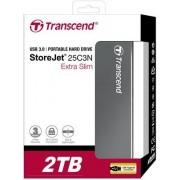 HDD eksterni Transcend 2TB StoreJet C3N, TS2TSJ25C3N