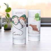 Personalised Frosted Glass