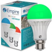 SWARA B22 3W COLOR LED BULB GREEN- PACK OF 1