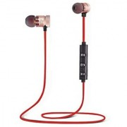ANEW Wireless Sports Bluetooth Magnet Earphone Hands-Free Headphone for All Smartphone