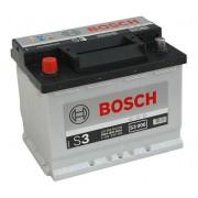 Bosch S3 12V 56Ah 480A Bal+ autó akkumulátor