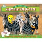 Animale salbatice. Cartea mea cu puzzle-uri. Baby Looney Tunes