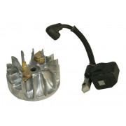 Elektronika paljenja i ventilator sa magnetom komplet za Makita DCS34 i Dolmar PS34 motorne testere