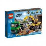 Trailer 4203 And Lego City Gold Miner Excavators (Parallel Import Goods) (Japan Import)