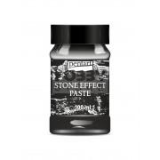 Pentart Kőhatású paszta (Stone Effect Paste)-antracit színű 29714