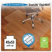 45x53 Lip Chair Mat, Economy Series For Hard Floors
