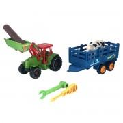 Tractor cu Remorca si cupa , cu accesorii- Farm Operator