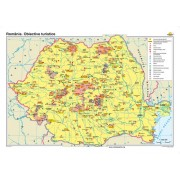 Romania. Obiective turistice 140x100 cm