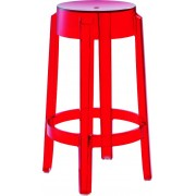 Replica Charles Ghost Stool - transparent red