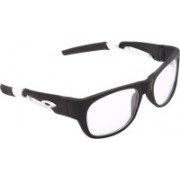 Overdrive Wayfarer Sunglasses(Clear)