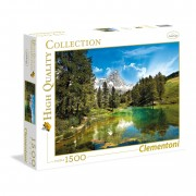 Clementoni puzzle high quality collection 1500 pz blue lake