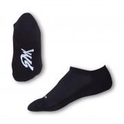 Styx Ponožky Styx indoor černé s bílým nápisem (H213) S