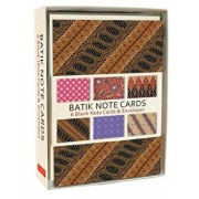 Batik Note Cards: 6 Blank Note Cards & Envelopes (4 X 6 Inch Cards in a Box)/Tuttle Editors