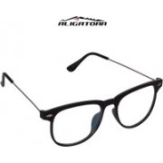 Aligatorr Wayfarer Sunglasses(Clear)