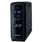 UPS, CyberPower, 900VA, Adaptive Sinewave, LCD Display (CP900EPFCLCD)