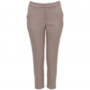 ComeGetFashion Pantalon Pied De Poule Print - Broeken