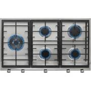 TEKA Placa de Gas TEKA EX 90.1 5G AI AL DR CI (Gas Butano-propano - 86 cm - Inox)