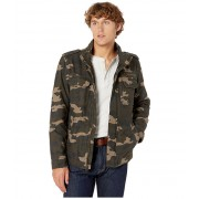 Levis Two-Pocket Military Jacket with Polytwill Lining Camo