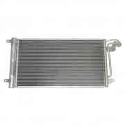 Condensator climatizare Vw Polo 6R 2009-, Skoda Fabia 2 2007-2015, Roomster, Rapid , Praktik, Seat Ibiza V 2008-, Toledo 2012-, Audi A1 2010-, Condensor radiator clima AC Kft Auto