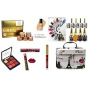 KERVACAUTH SPECIAL BEAUTY MAKEUP KIT/COMBOS (PACK OF 21) + ELEGANT VANITY FREE.