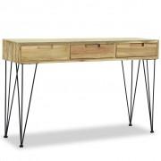 vidaXL Console Table 120x35x76 cm Solid Teak