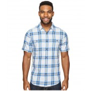 Royal Robbins Point Reyes Plaid Short Sleeve Shirt Oceania