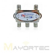 DMS International 4x1 DiSEqC Switch 2.0 Alta Calidad DMS