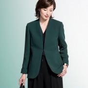 東京ソワール チュニック丈シンプルジャケット【QVC】40代・50代レディースファッション